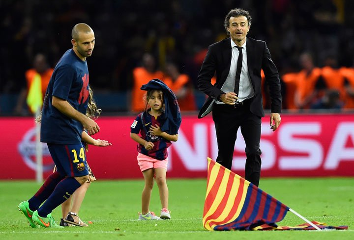luis-enrique-and-daughter-win-liga-champion