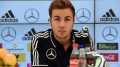 Germany´s midfielder Mario Goetze answers questions during a press conference of the German national football team in San Martino in Passiria, Italy, on May 24, 2014. Germany's squad prepares for the upcoming FIFA World Cup 2014 in Brazil at a training camp in South Tyrol until May 31, 2014. AFP PHOTO / PATRIK STOLLARZ        (Photo credit should read PATRIK STOLLARZ/AFP/Getty Images)